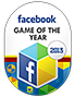 Facebook Game of the Year 2013 Award